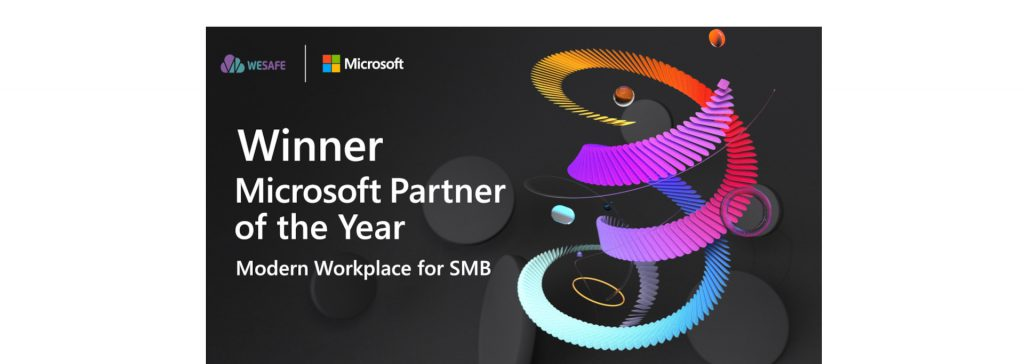 Microsoft Partner of the Year banner